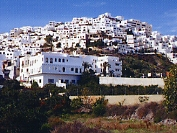The quaint white washed village of Mojacar Pueblo with its windy streets and abundance of restaurants